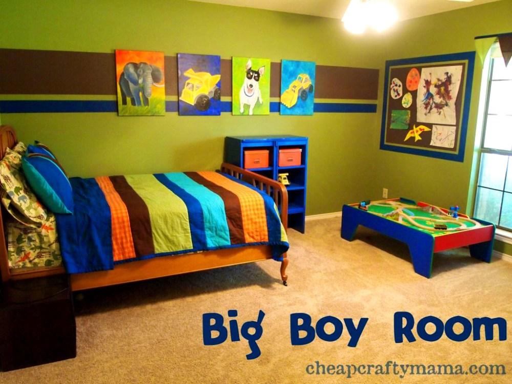 Baseball Themed Toddler Bedroom