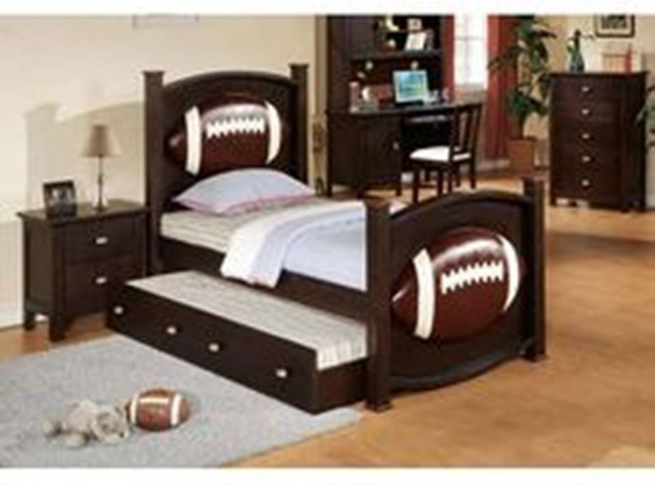 Baseball Toddler Bed Frame