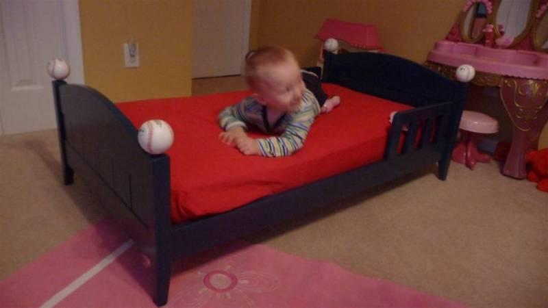 Baseball Toddler Bed