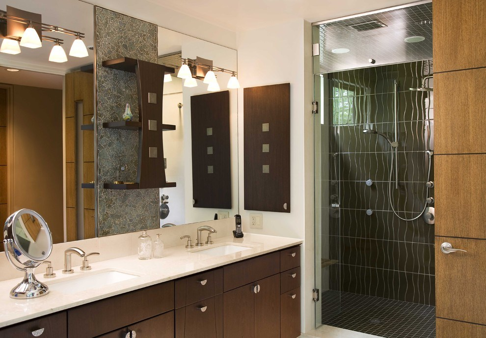 Bathroom Medicine Cabinets Dark Wood