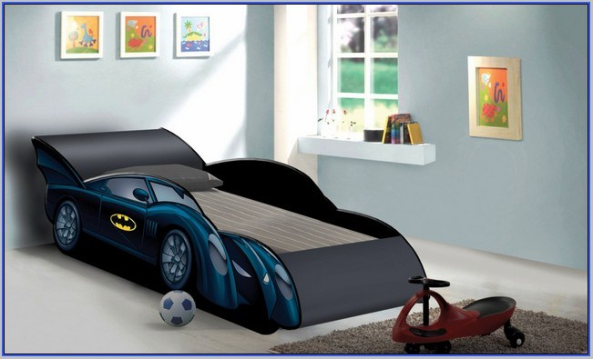 Batman Car Bed For Toddlers