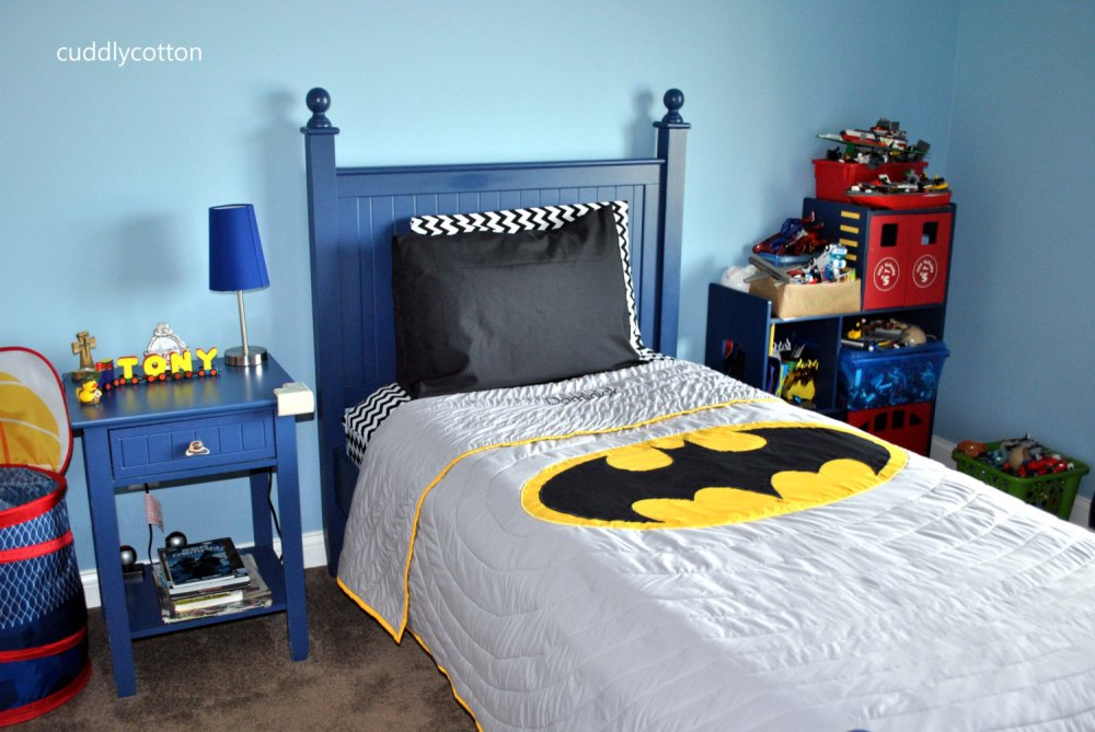 Batman Toddler Bedroom