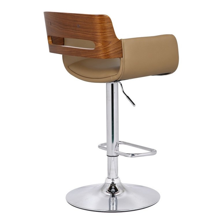 Bentwood Adjustable Height Bar Stool