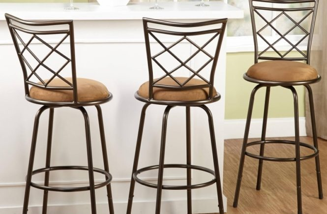 Black Bar Stools Set Of 3