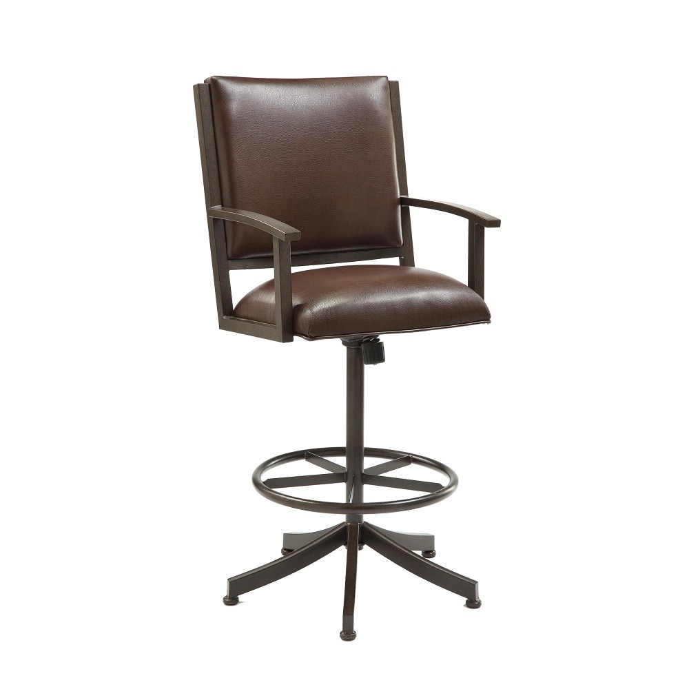 Black Bar Stools With Arms