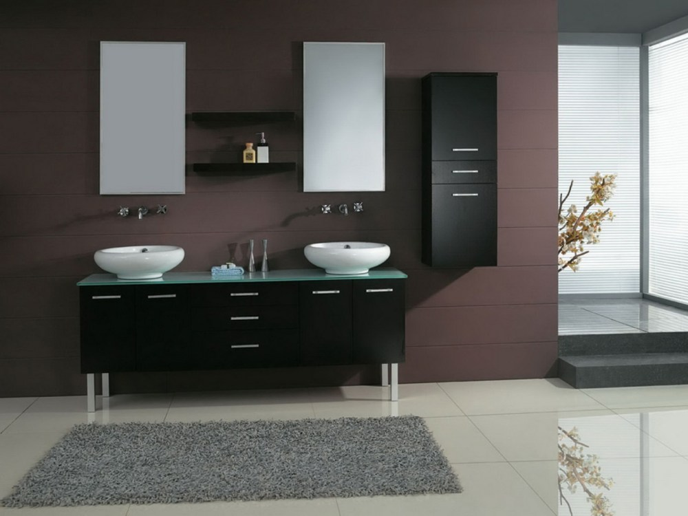Black Bathroom Medicine Cabinet With Mirror