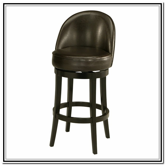 Black Leather Bar Stools Counter Height