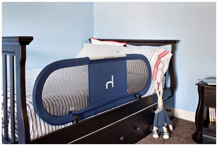 Black Toddler Bed Rail