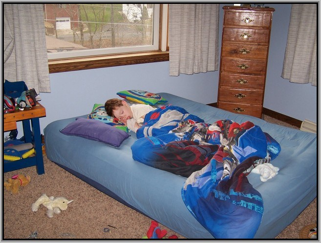 Blow Up Toddler Bed Argos
