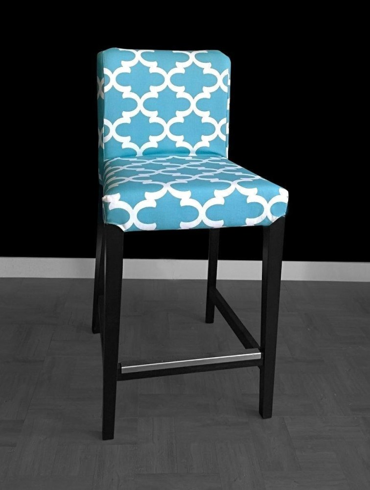 Blue Bar Stool Covers
