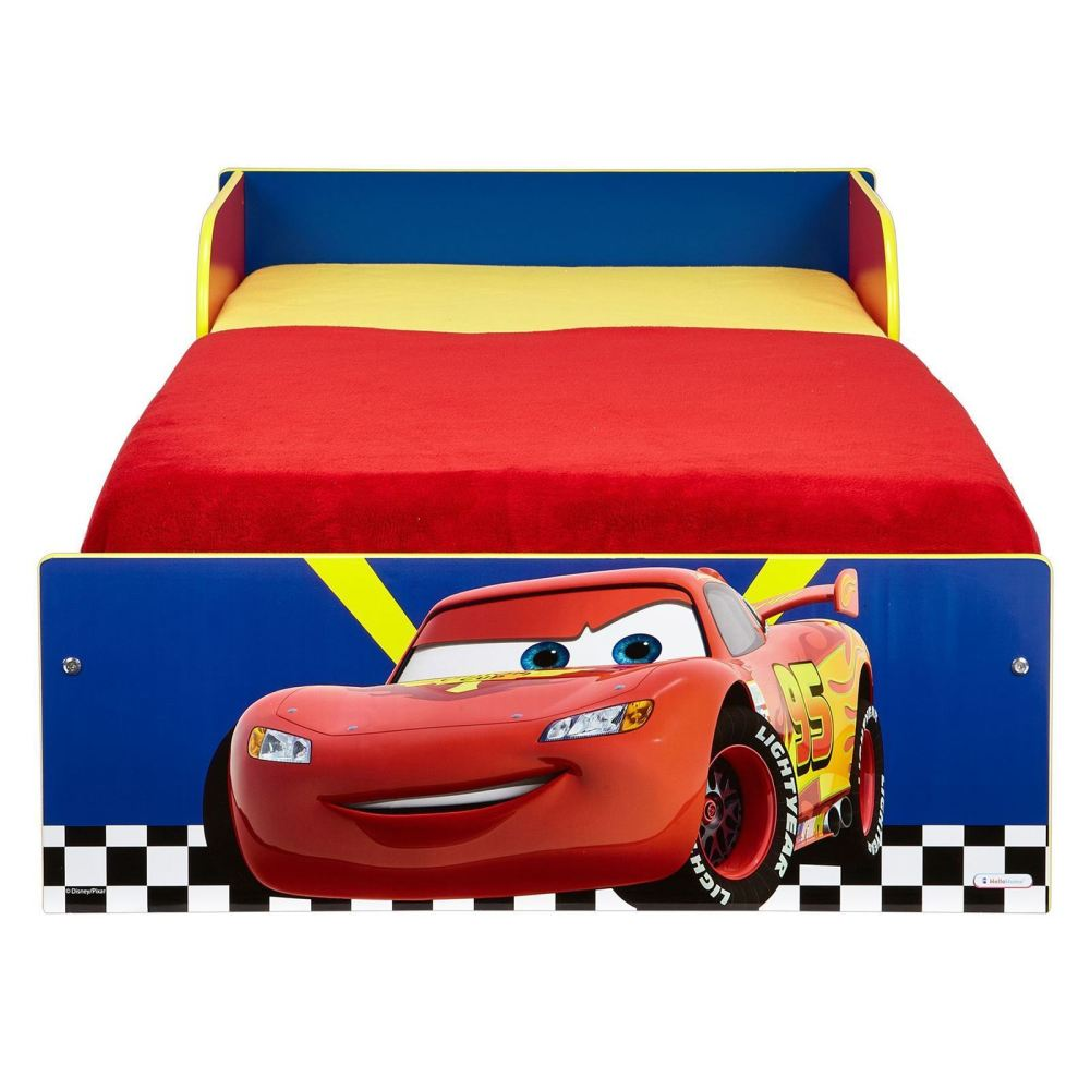 Blue Disney Cars Toddler Bed