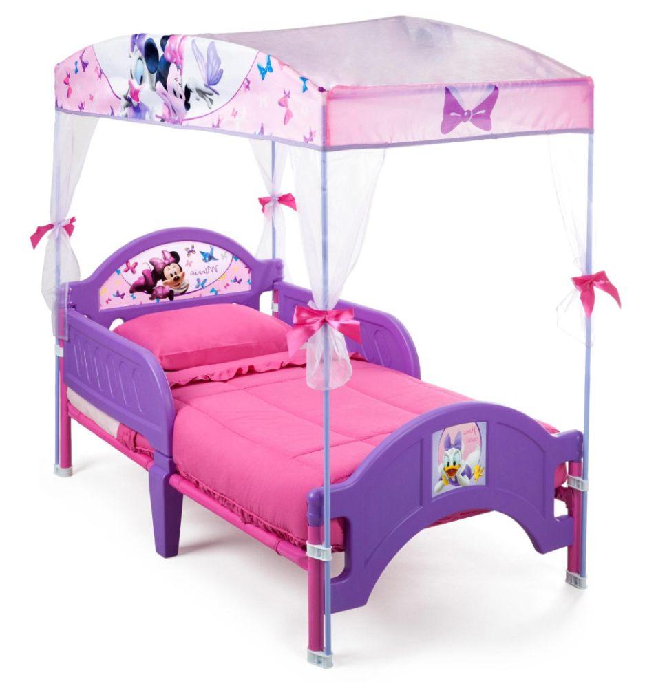 Blue Plastic Car Toddler Bed