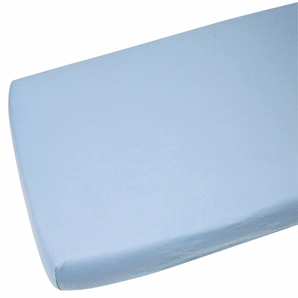Blue Toddler Bed Fitted Sheet