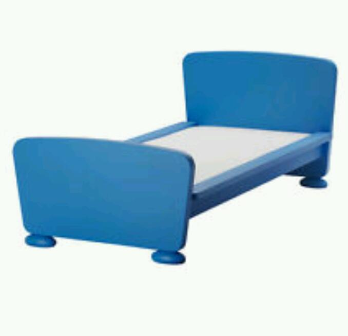 Blue Toddler Bed Ikea