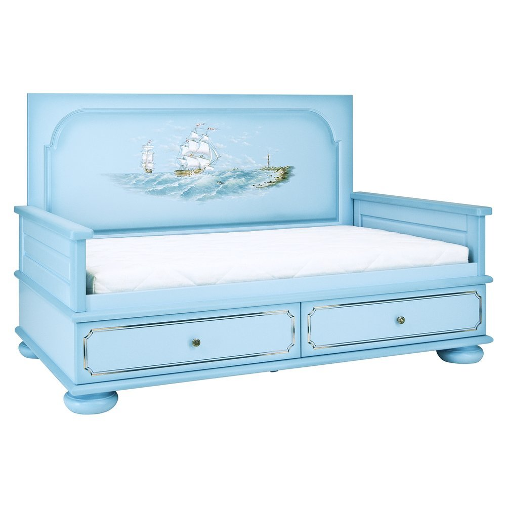 Blue Toddler Bed Uk