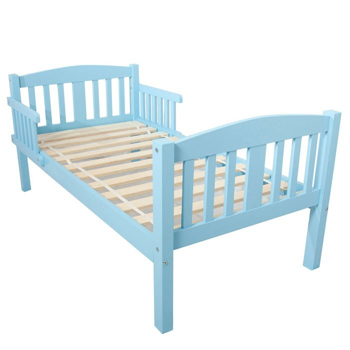 Blue Toddler Bed