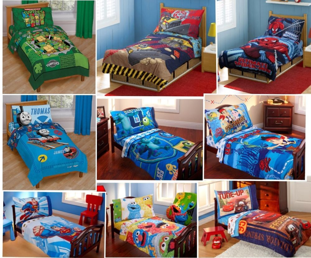 Boy Toddler Bedding Sets