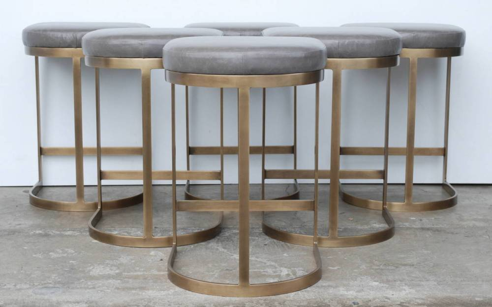 Brass Bar Stools
