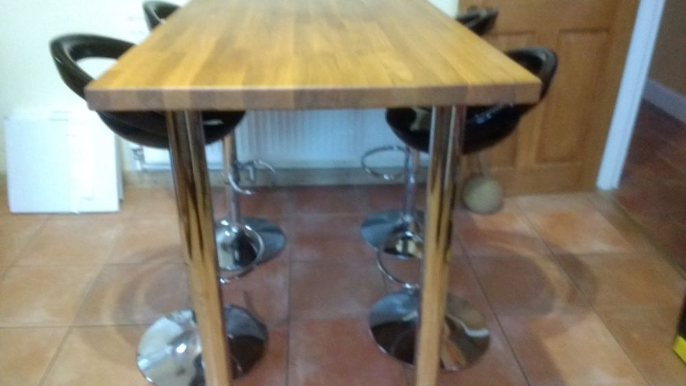 Breakfast Bar Table And Stools Uk