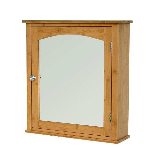 Breeze Bamboo Medicine Cabinet