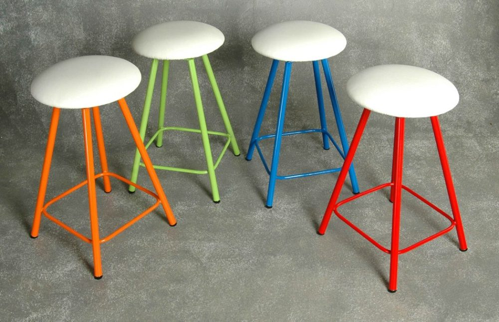 Bright Colored Bar Stools