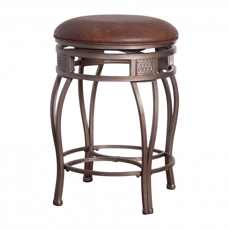 Bronze Iron Bar Stools
