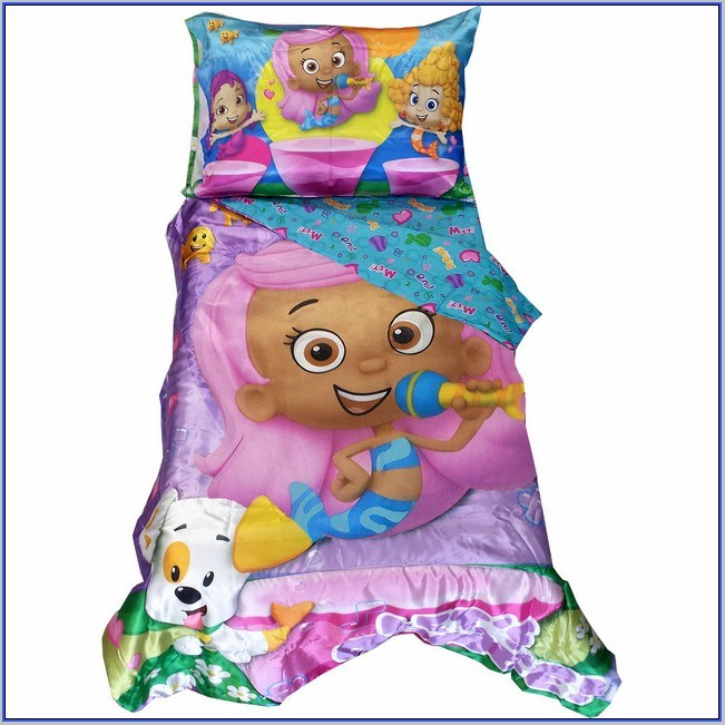 Bubble Guppies Toddler Bed