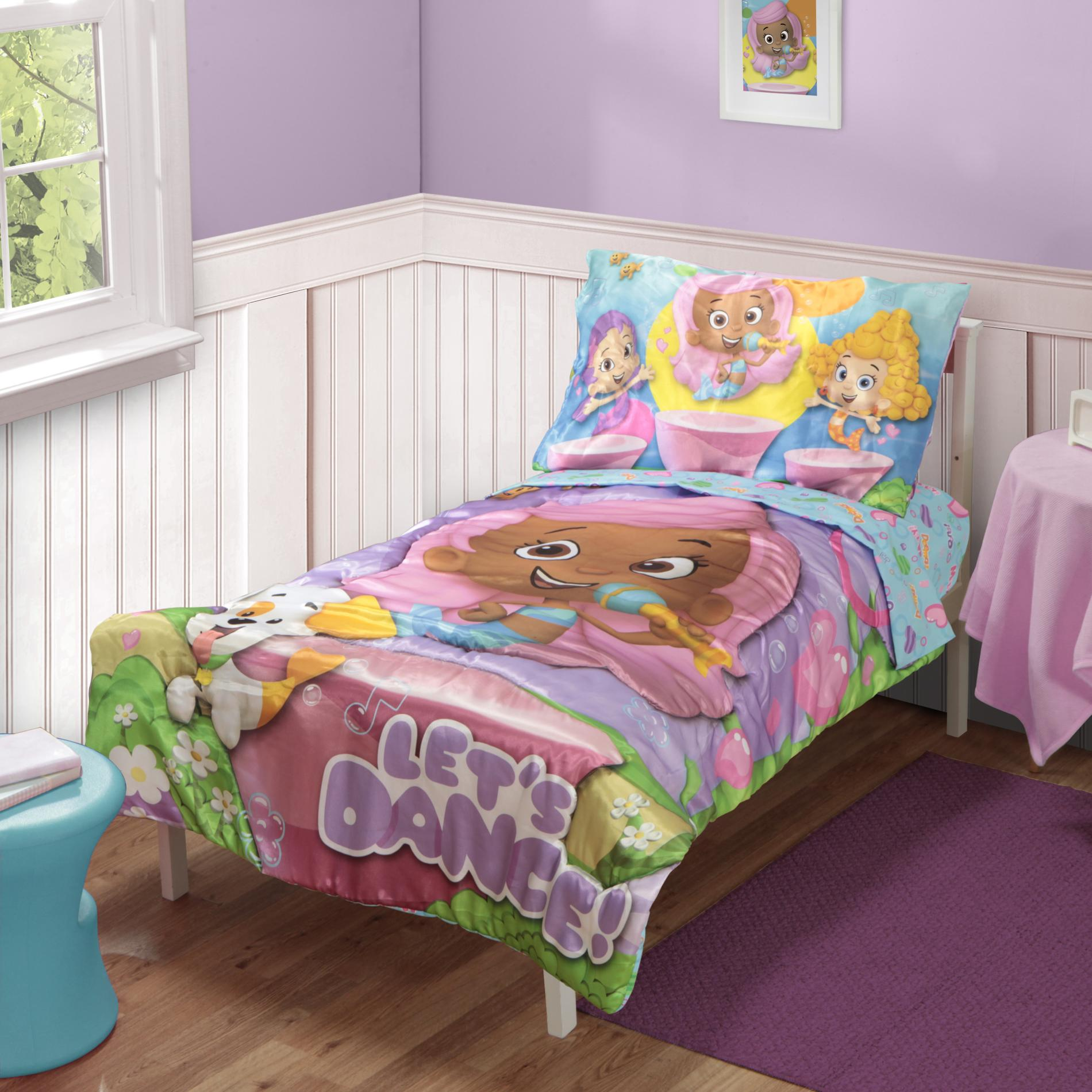 Bubble Guppies Toddler Bedding Girl