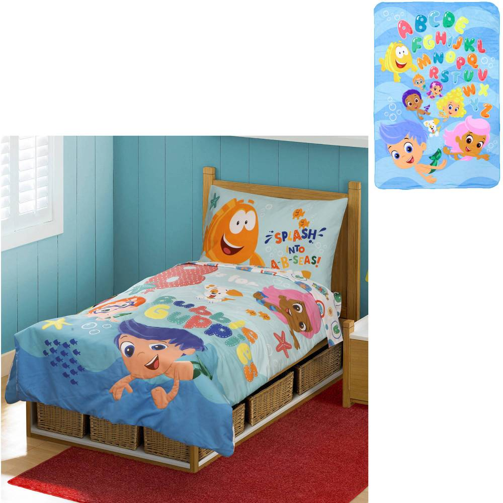 Bubble Guppies Toddler Bedding