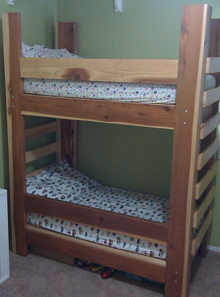 Build Toddler Size Bunk Beds