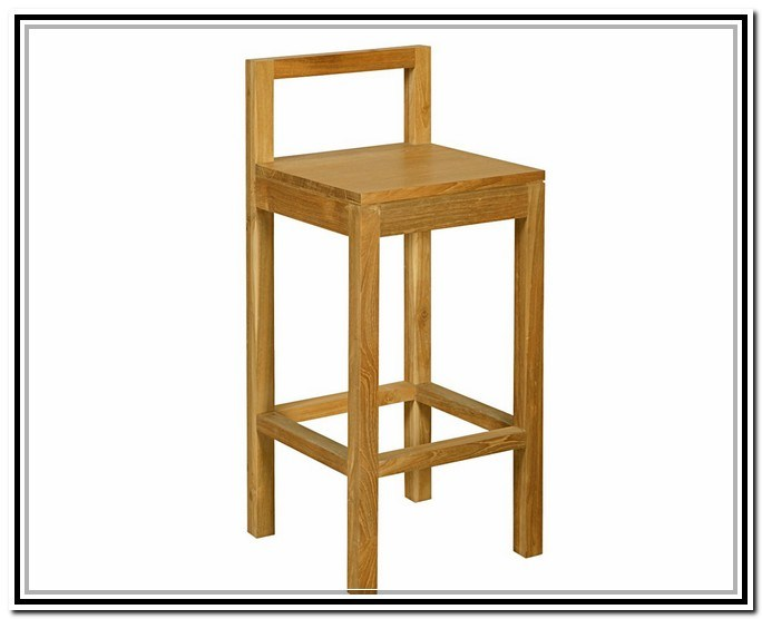 Building Bar Stools With Backs