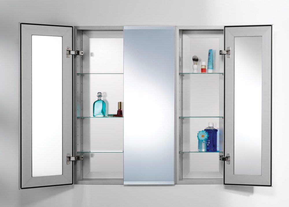 Built In Medicine Cabinet With Lights