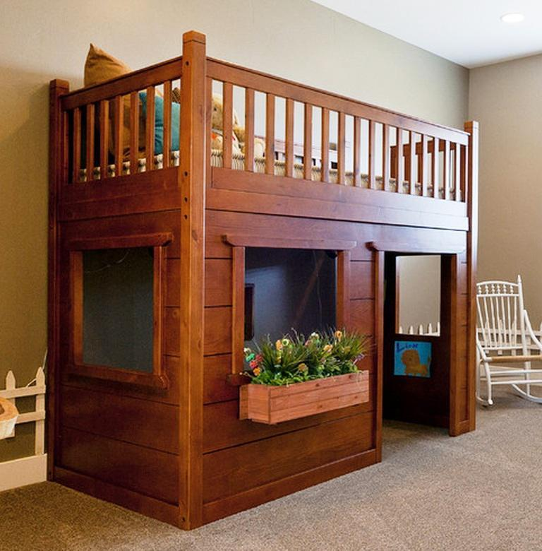 Bunk Bed Toddler Size