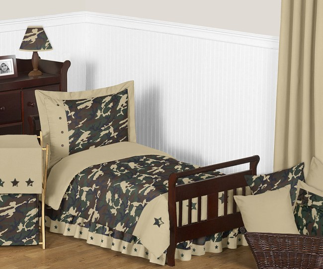 Camo Toddler Bedding Sets