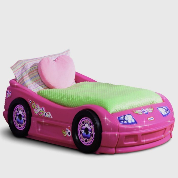 Car Bed For Toddler Girl