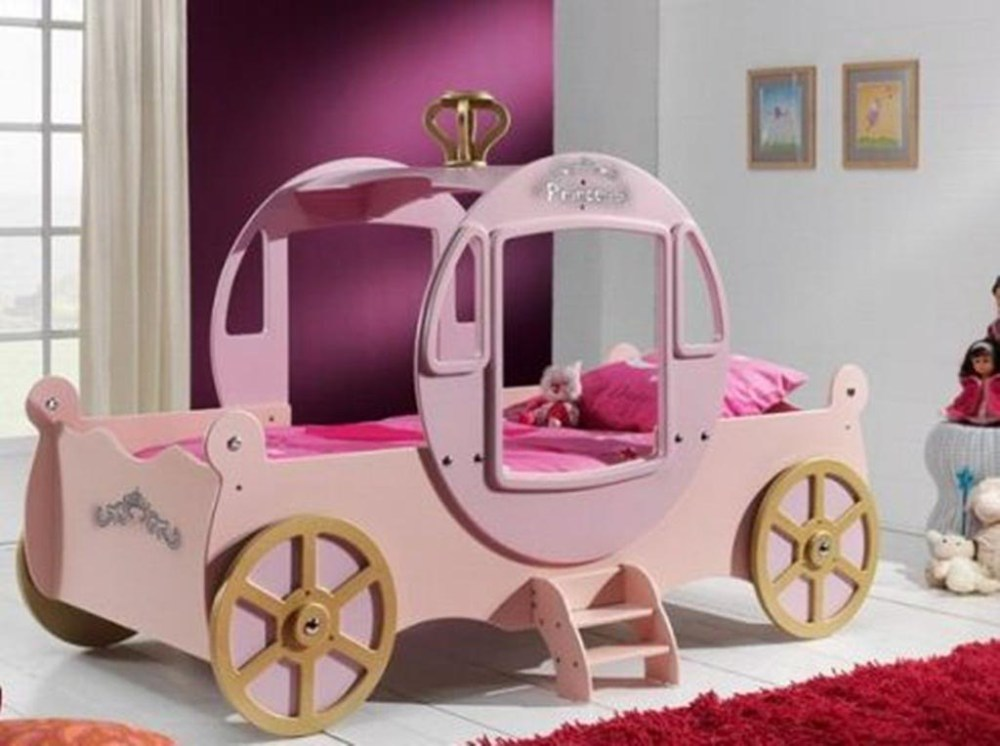 Car Bed Toddler Girl