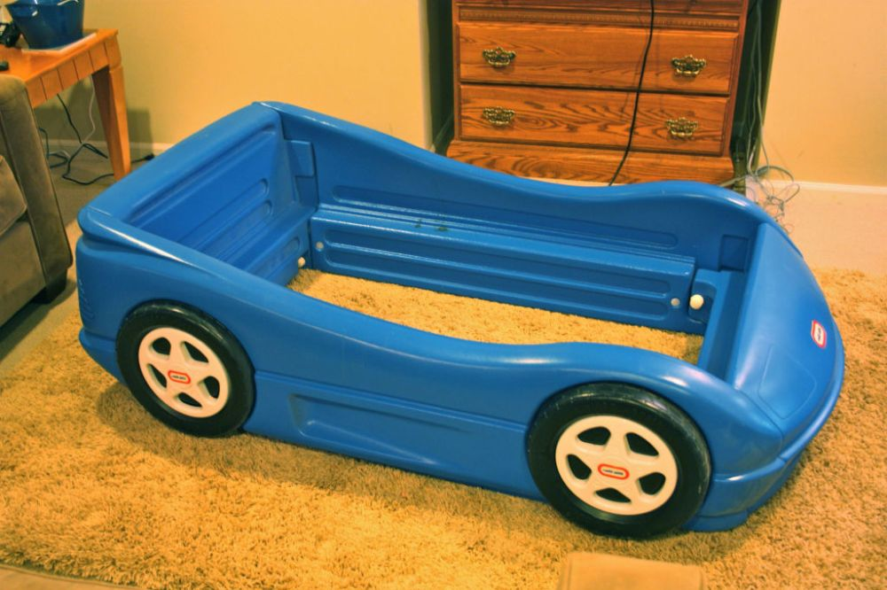 Car Bed Toddler Used