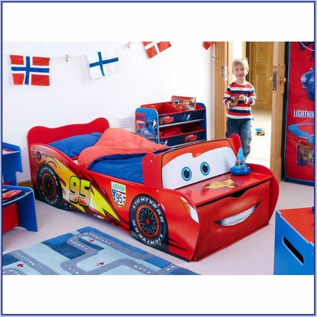 Car Bed Toddlers Walmart