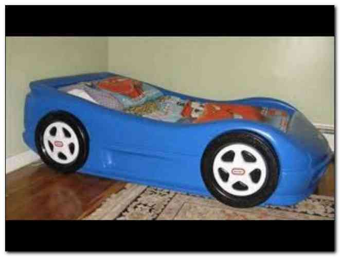 Car Toddler Bed Little Tikes