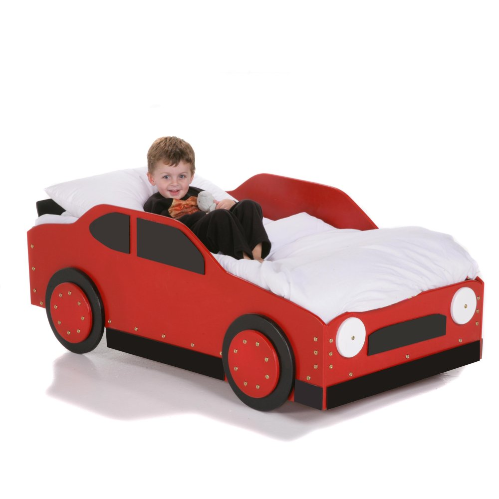 Car Toddler Bed Set