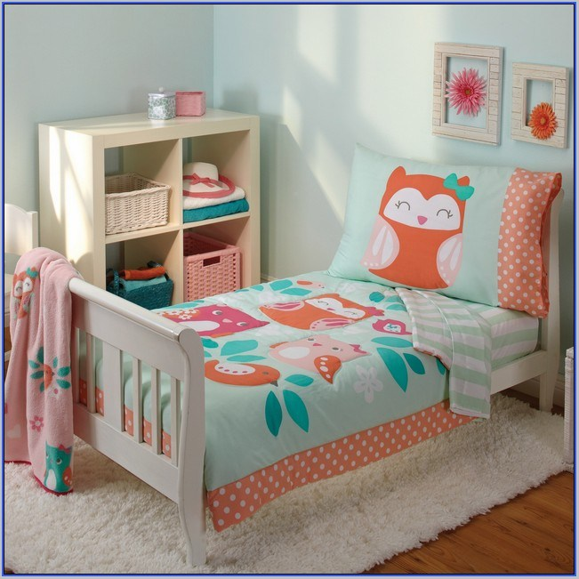 Car Toddler Bedding Set