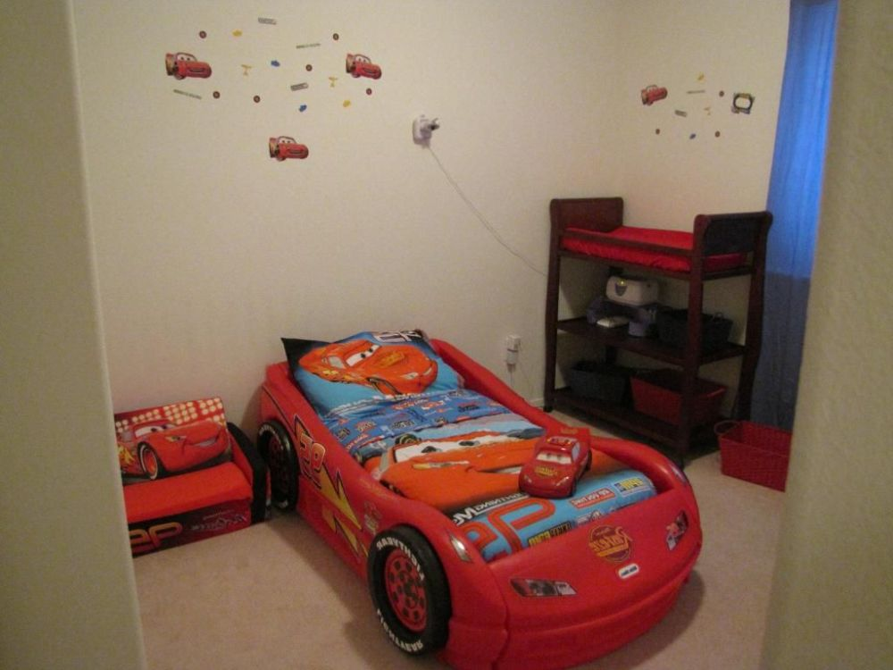 Cars Themed Toddler Bed