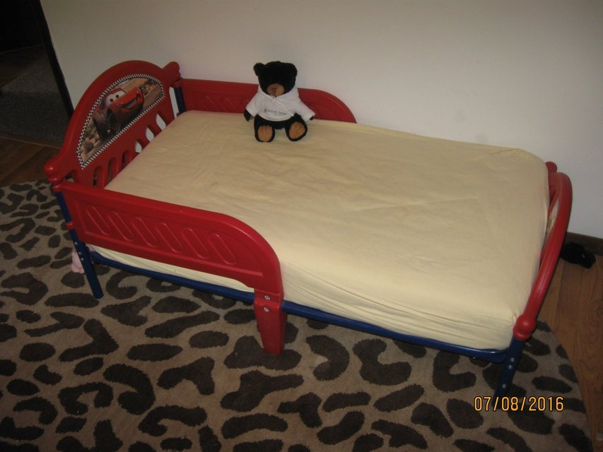Cars Toddler Bed On Sale