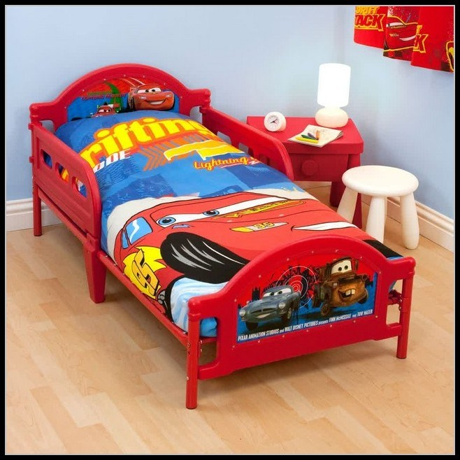 Cars Toddler Bed Set Australia