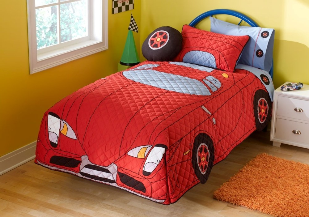 Cars Toddler Bed Spread