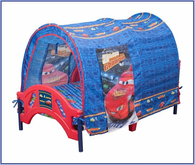 Cars Toddler Bed With Tent