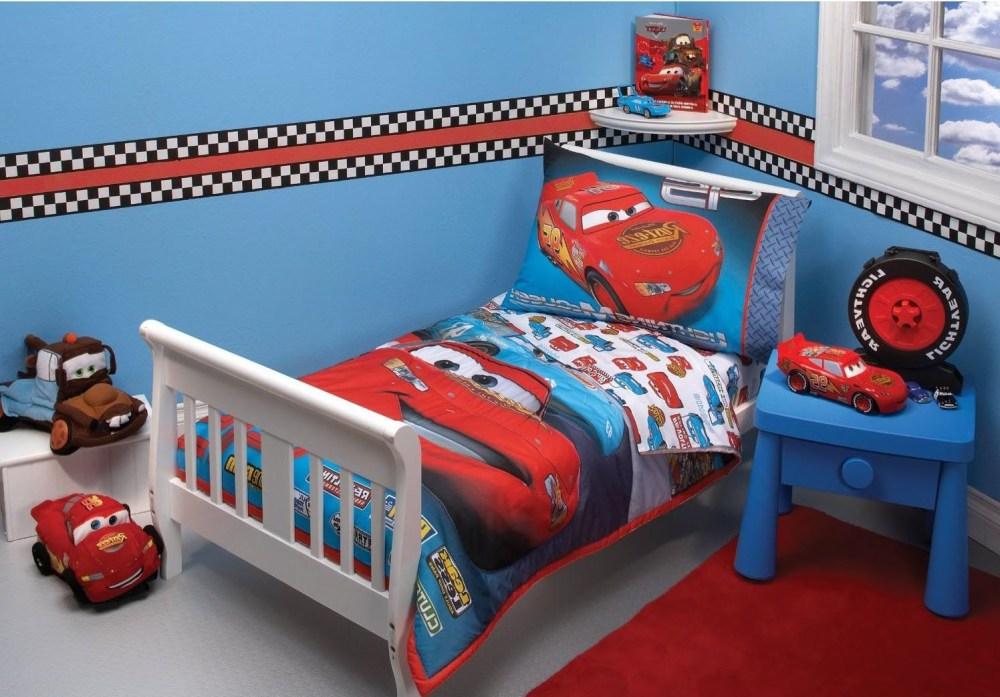 Cars Toddler Bedroom Set