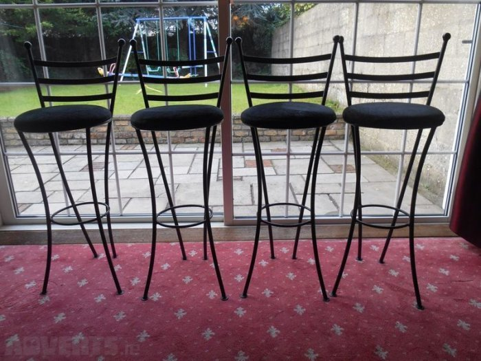Cast Iron Bar Stools For Sale
