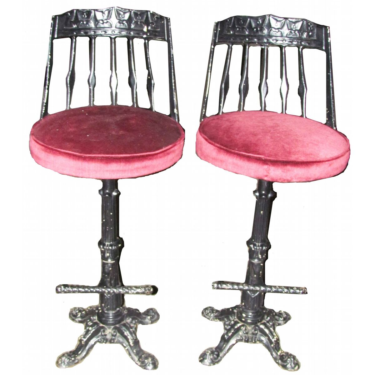 Cast Iron Bar Stools