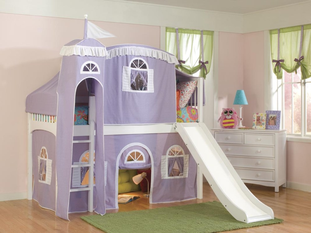 Castle Bed For Toddler Girl